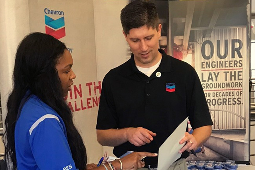 Chevron Veteran Recruiter