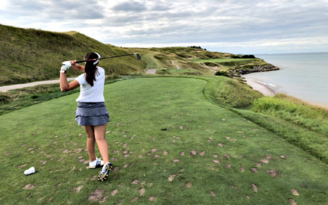Nikki Marquardt at Whistling Straits Golf Course