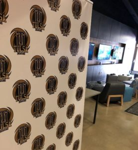 Newly remodeled lounge houses multiple gaming accessories