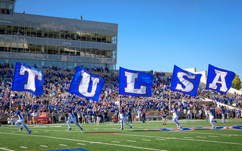 The University of Tulsa Chapman Stadium
